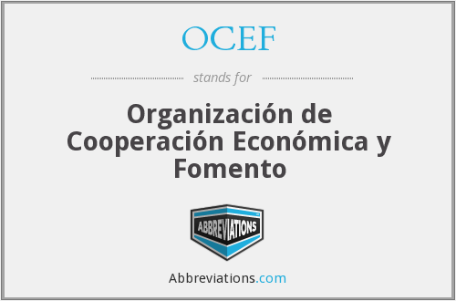 What does OCEF stand for?
