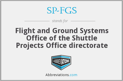 What does SP-FGS stand for?