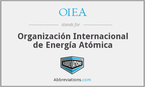 What does OIEA stand for?