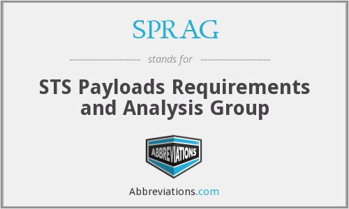 What does SPRAG stand for?