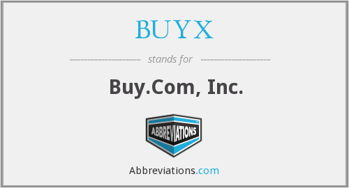 What does BUYX stand for?