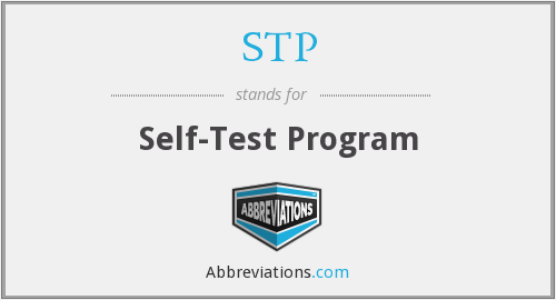 STP - Self-Test Program