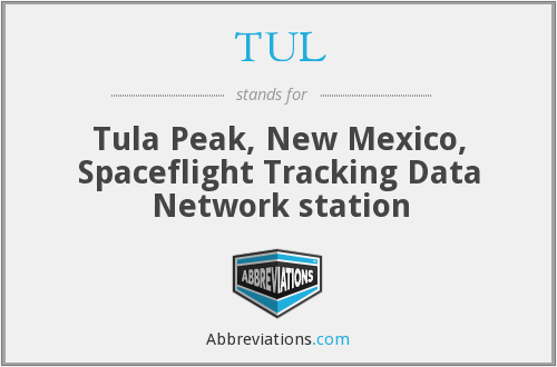 TUL - Tula Peak, New Mexico, Spaceflight Tracking Data Network station