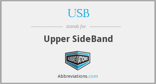 USB - Upper SideBand