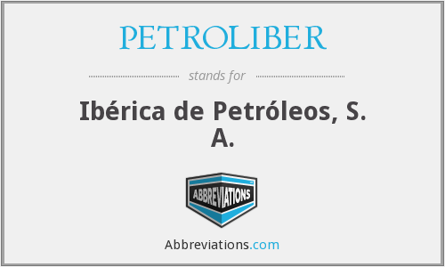 What does PETROLIBER stand for?