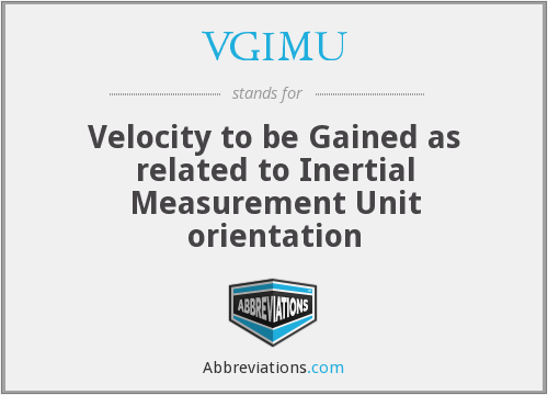 What does VGIMU stand for?