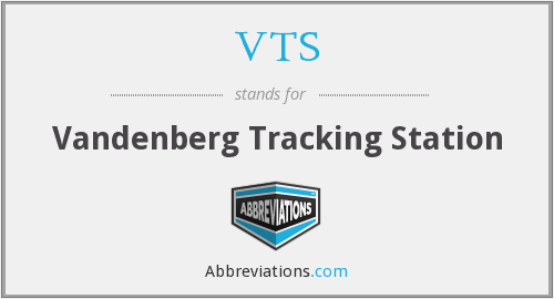 VTS - Vandenberg Tracking Station