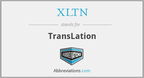 XLTN - TransLation