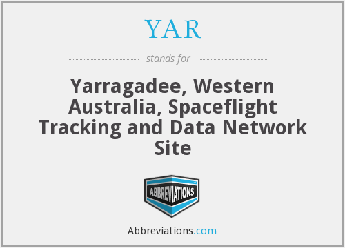 YAR - Yarragadee, Western Australia, Spaceflight Tracking and Data Network Site