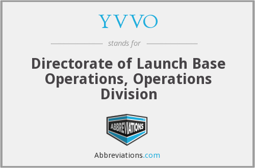 YVVO - Directorate of Launch Base Operations, Operations Division