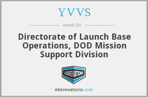 YVVS - Directorate of Launch Base Operations, DOD Mission Support Division