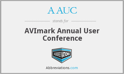 AAUC - AVImark Annual User Conference
