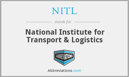 NITL - National Institute for Transport & Logistics