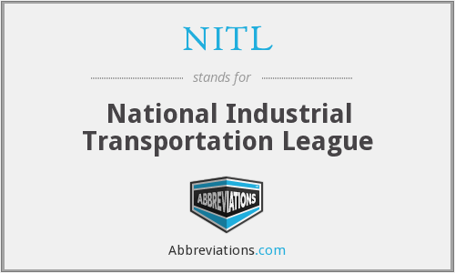NITL - National Industrial Transportation League