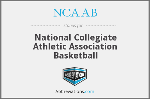What does NCAAB stand for?