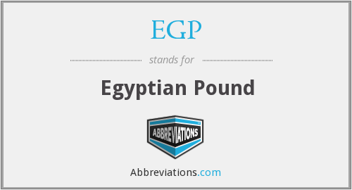 What does EGP stand for?