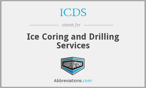 ICDS - Ice Coring and Drilling Services