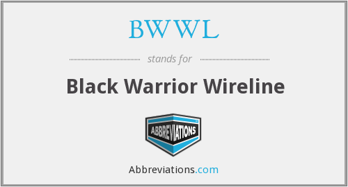 BWWL - Black Warrior Wireline