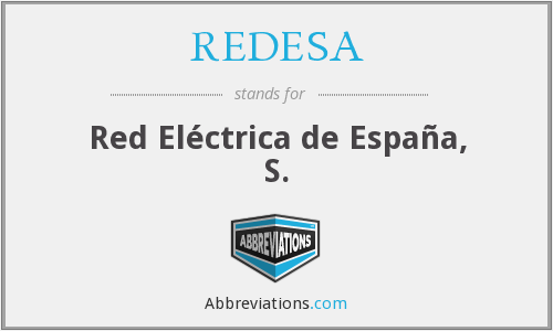 What does REDESA stand for?