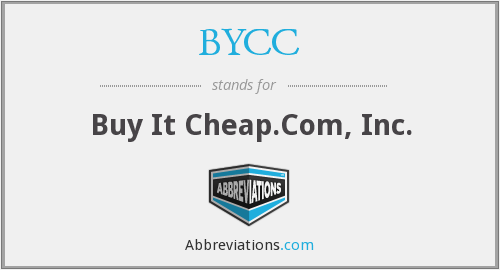 BYCC - Buy It Cheap.Com, Inc.