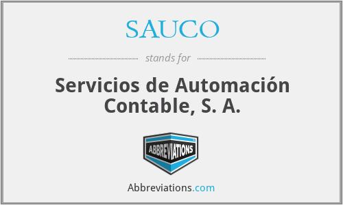 SAUCO - Servicios de Automación Contable, S. A.