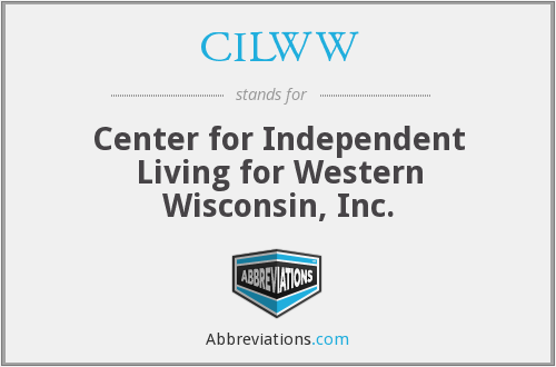 CILWW - Center for Independent Living for Western Wisconsin, Inc.