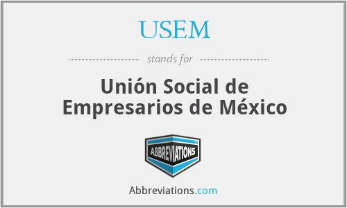 USEM - Unión Social de Empresarios de México