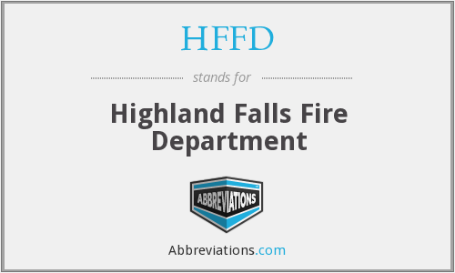 HFFD - Highland Falls Fire Department