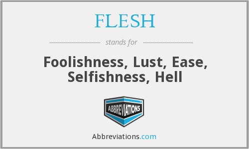 What does selfishness stand for?