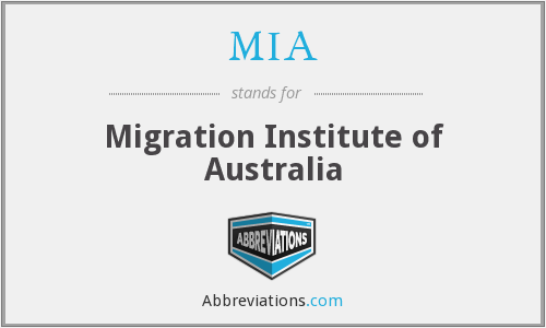 MIA - Migration Institute of Australia