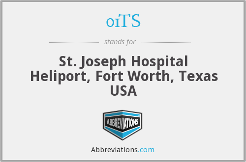 01TS - St. Joseph Hospital Heliport, Fort Worth, Texas USA