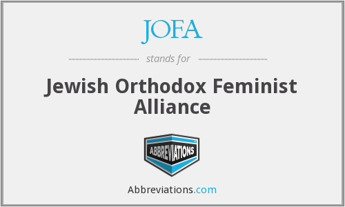 JOFA - Jewish Orthodox Feminist Alliance
