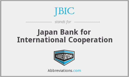 JBIC - Japan Bank for International Cooperation
