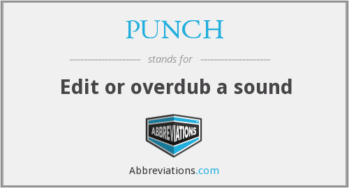 What does PUNCH stand for?