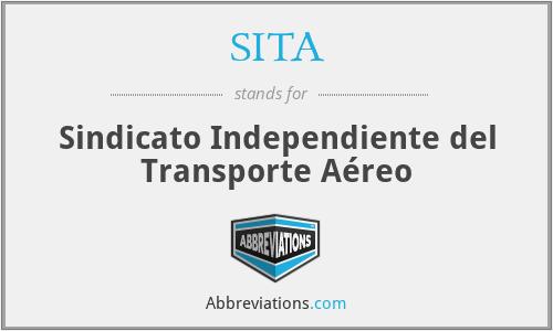 SITA - Sindicato Independiente del Transporte Aéreo
