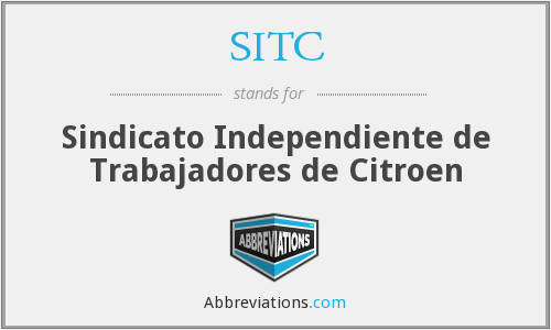 SITC - Sindicato Independiente de Trabajadores de Citroen