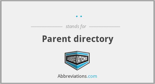 .. - Parent directory