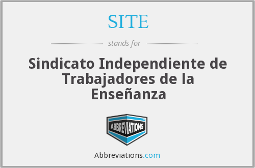 SITE - Sindicato Independiente de Trabajadores de la Enseñanza