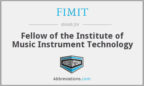 What does FIMIT stand for?