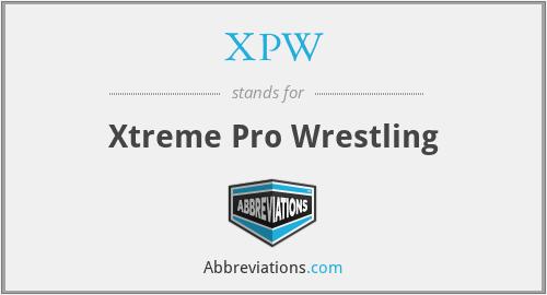 XPW - Xtreme Pro Wrestling