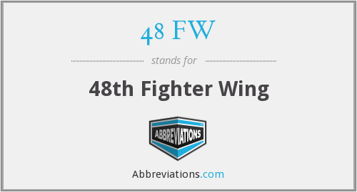 48 FW - 48th Fighter Wing
