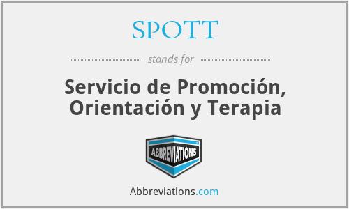 SPOTT - Servicio de Promoción, Orientación y Terapia