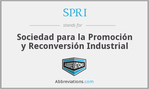 SPRI - Sociedad para la Promoción y Reconversión Industrial