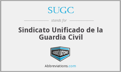 What does SUGC stand for?