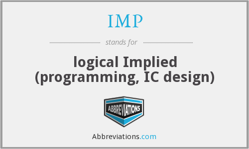 IMP - logical Implied (programming, IC design)