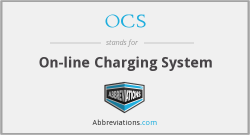 OCS - On-line Charging System