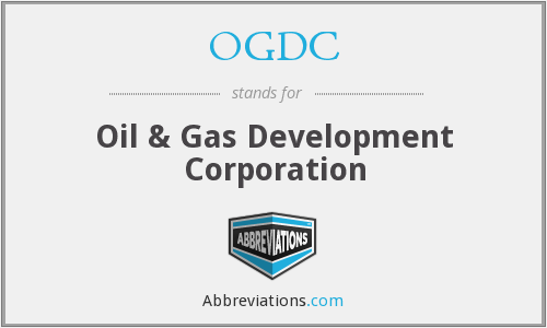 What does OGDC stand for?