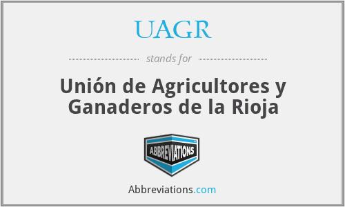 UAGR - Unión de Agricultores y Ganaderos de la Rioja
