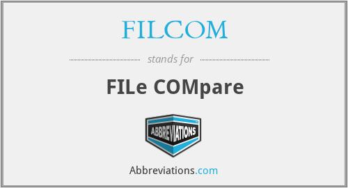 FILCOM - FILe COMpare