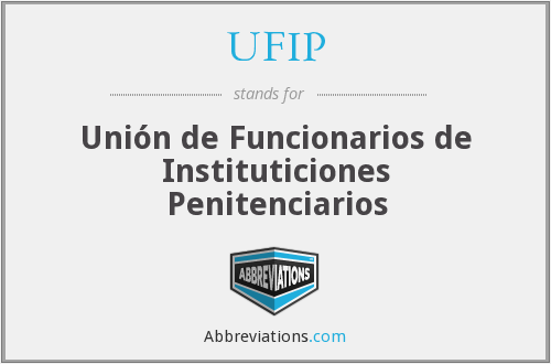 What does UFIP stand for?